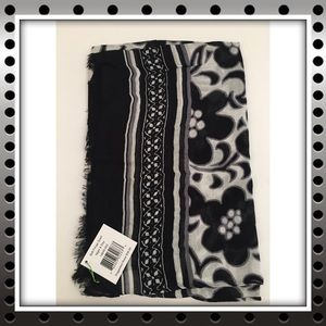 Vera Bradley Night & Day Soft Fringe Scarf